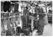 Price worked as a cobbler at a nearby shoe shop